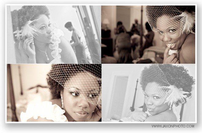 Beautiful Bride Wedding preparation Wedding album Villa