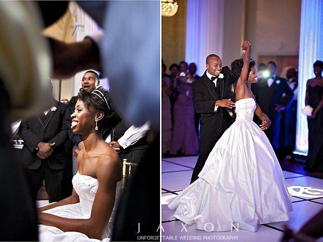 Couple's first dance, and sweetheart dance Biltmore Ballrooms Wedding