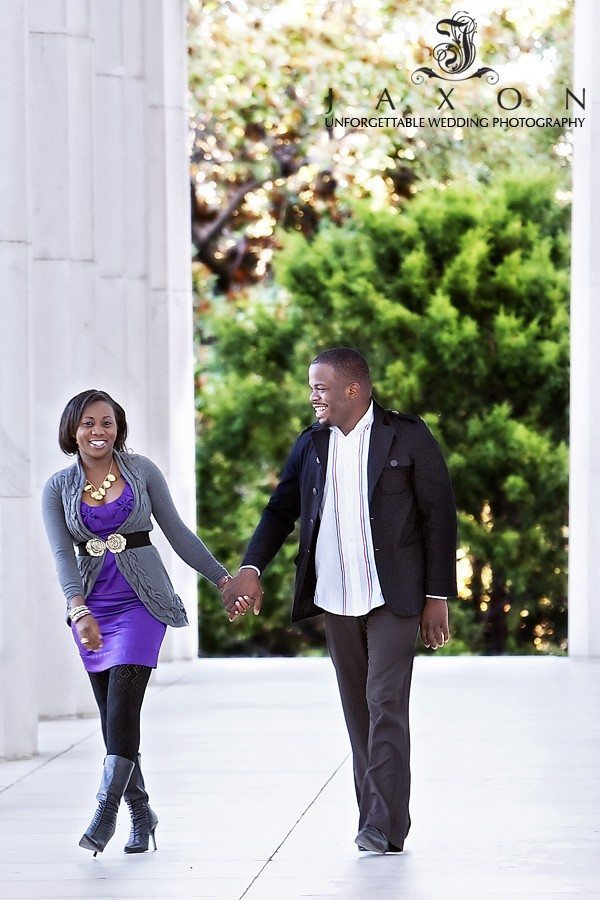 Engagement Pictures on the Mall in Washington DC