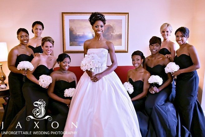 Bride and party in Suite at the Four Seasons | Biltmore Ballrooms