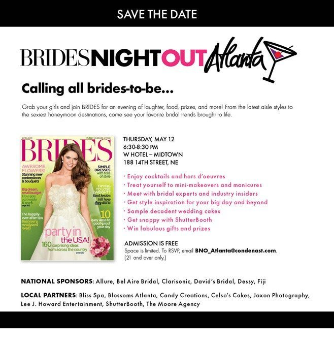 Brides Night Out Atlanta