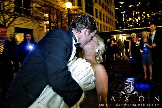 the grand Exit | the Peachtree Club Wedding