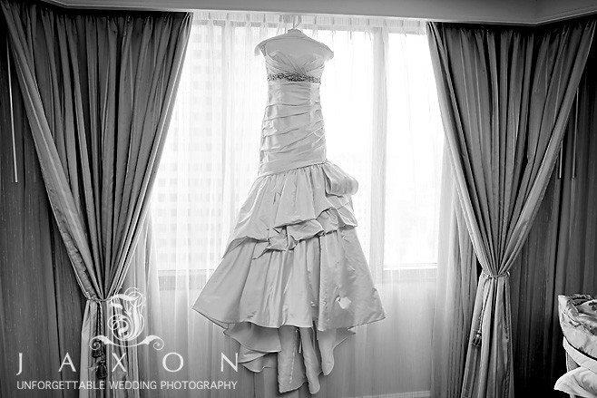 Biltmore Ballrooms Aaliyah | Brides dress in the window