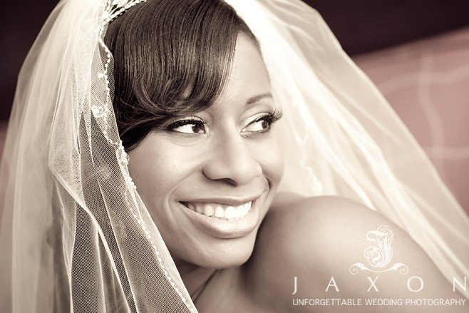 Bride at Marriott Buckhead Wedding