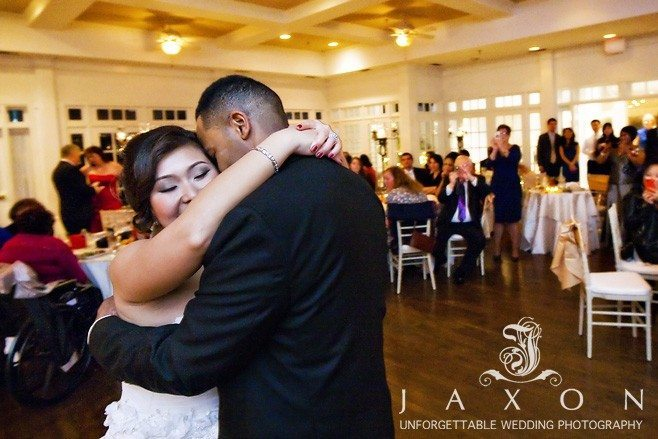 Couple's First dance Flint Hill Ballroom in Norcross