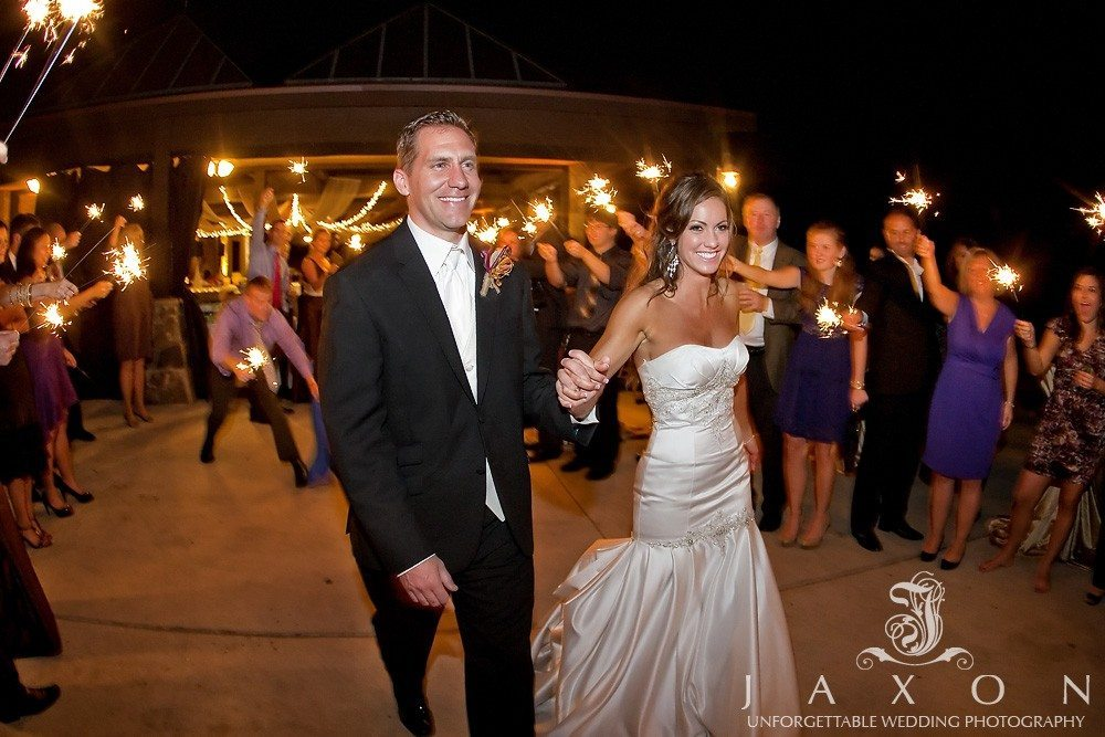 Sparklers Sendoff PineIsle Pointe | Lake Lanier Wedding