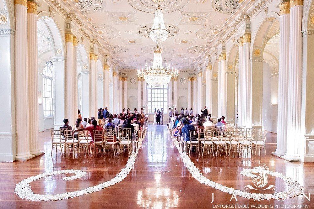 the georgian ballroom at their biltmore ballroom wedding