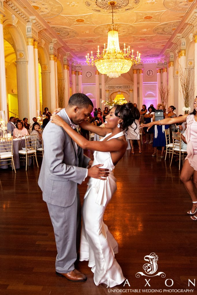 the couple's first dance biltmore ballrooms wedding
