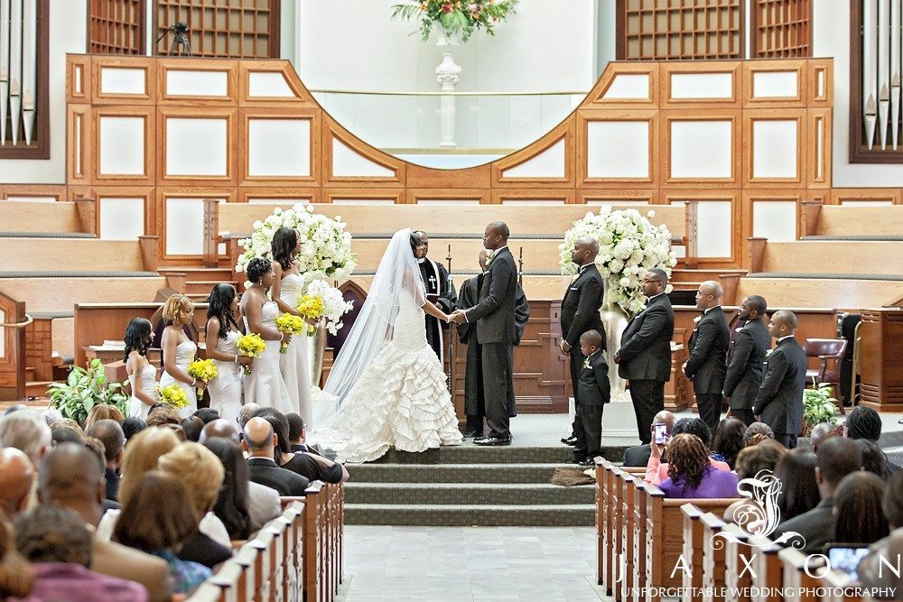 Inside the Ebenezer Baptist Church Wedding Ceremony