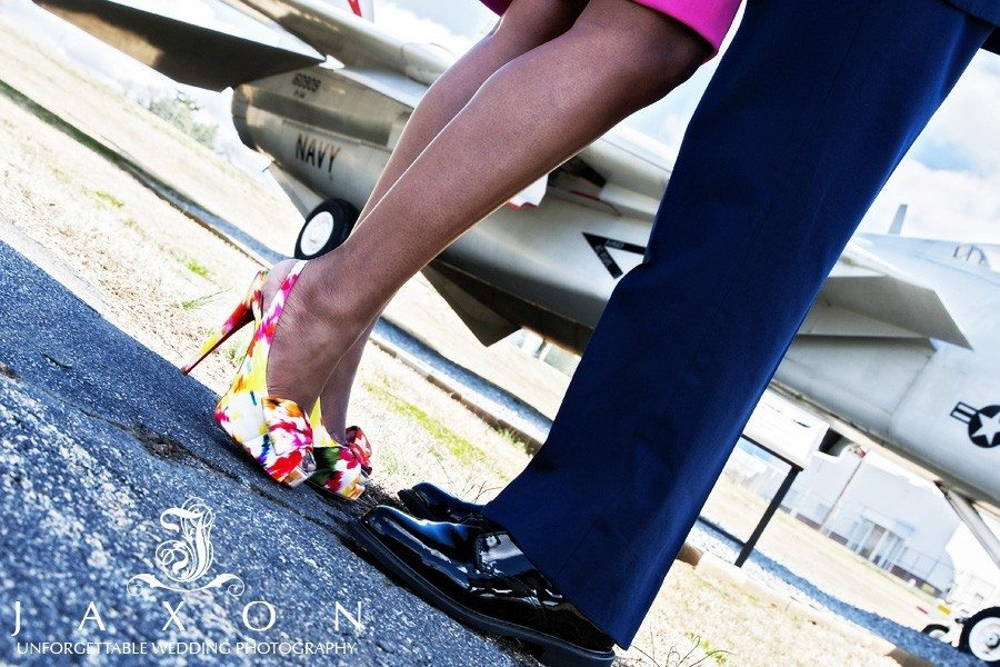 Christian Louboutin and military jets