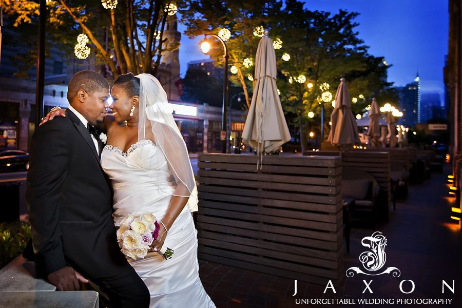 in this sneak peek our couple embraces at their Georgian Terrace Wedding