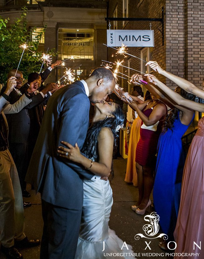 Seal the wedding night with a kiss