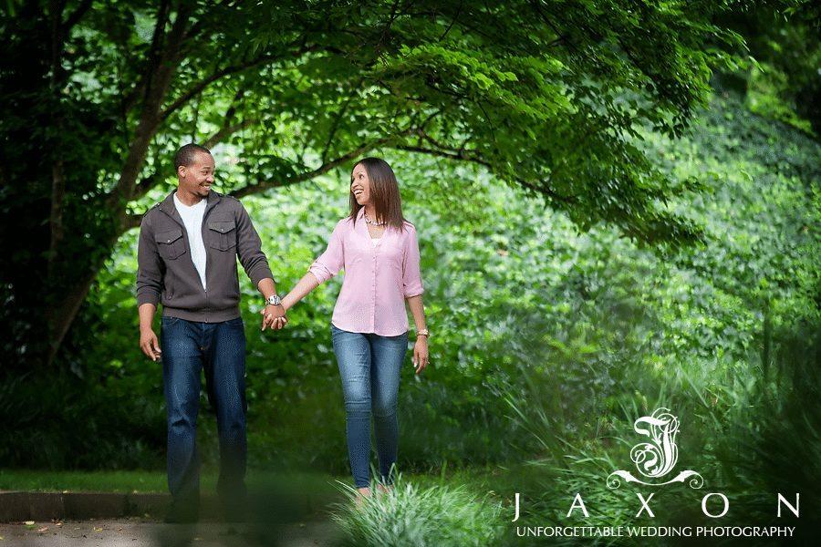 Engagement session at Piedmont Park