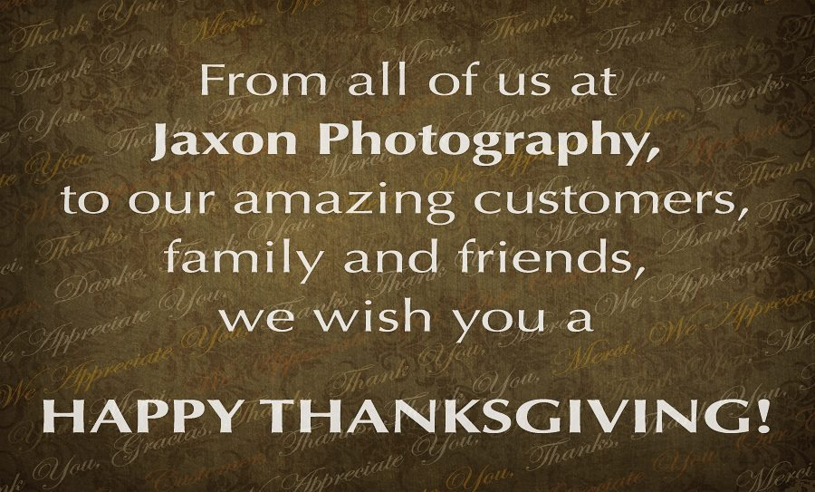 Happy thanksgiving wishes to customers and friends