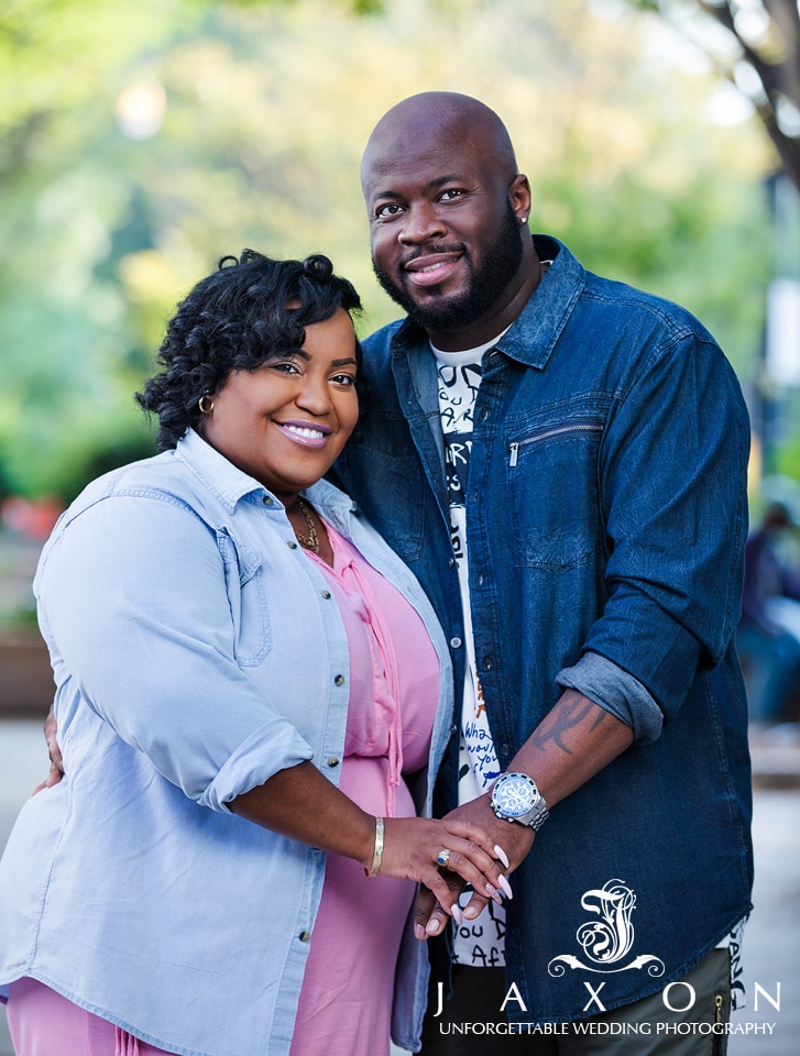 Woodruff Park Engagement pictures