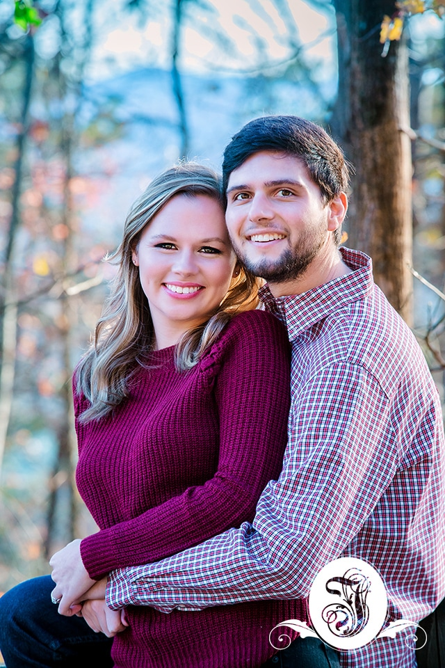 North GA mountains engagement session